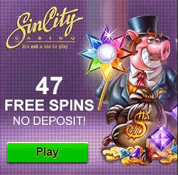 Sin City Free Spins