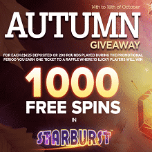Autumn Giveaway At NextCasino