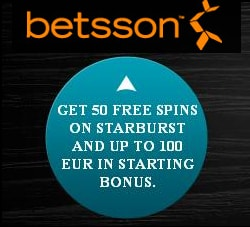 Sign Up Bonus at Betsson