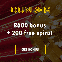 Dunder Casino promotion