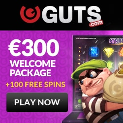 The online casino Guts is celebrating its 6th Birthday this year