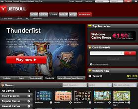 Jetbull Home page