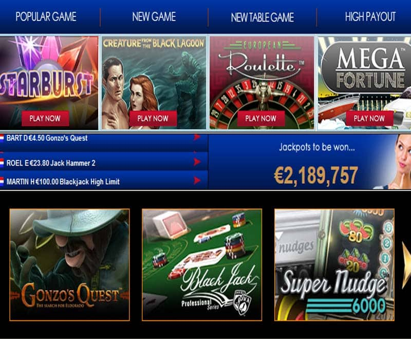 Polder Casino Games