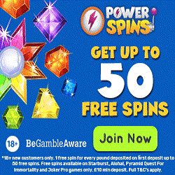Load up on tech prizes with the Power Spins casino