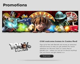 Promotional pages