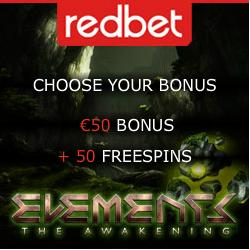 10 free spins on Elements