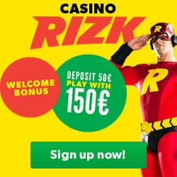 Play at Rizk Casino with up to 1,000 Free Spins