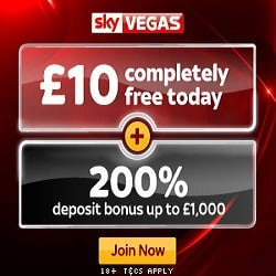 SkyVegas Casino Promotion