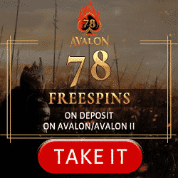Avalon78 Casino Promotion