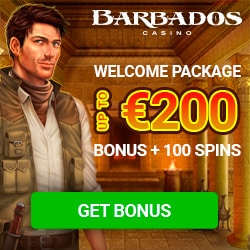 Barbados Casino - Super September: £7,000 + 15,000 Spins