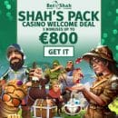 Win a share of €50 000 with the help from casino BetShah