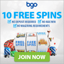 Win a share of 1 Million Free Spins with BGO casino