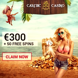 Monsters of the Universe: £/€/$300 + 100 Free Spins at Caribic Casino