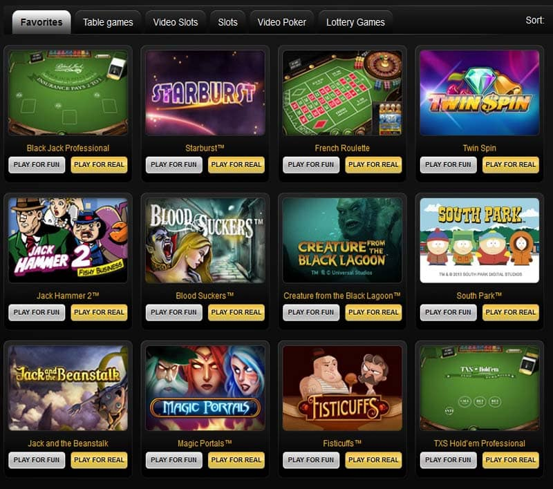 Cashpoint Casino Games