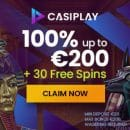 30 Free Spins on Book of Dead from casino Casiplay