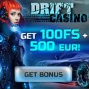 Daily giveaways by Drift Casino throughout the week