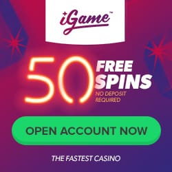 Daily free spins during the Summer Calendar at iGame
