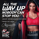 Lady Hammer Casino - Never on the Ropes: €3K + 3000FS