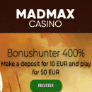 Get multiple gifts for leveling up: over $3750 from casino MadMax