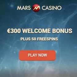 Mars Casino is giving away €500 during the Martian Rush
