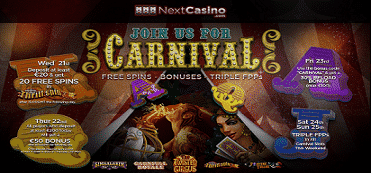 Carnival Free Spins