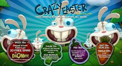 Easter Free Spins
