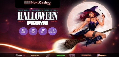 Next Casino October Calendar