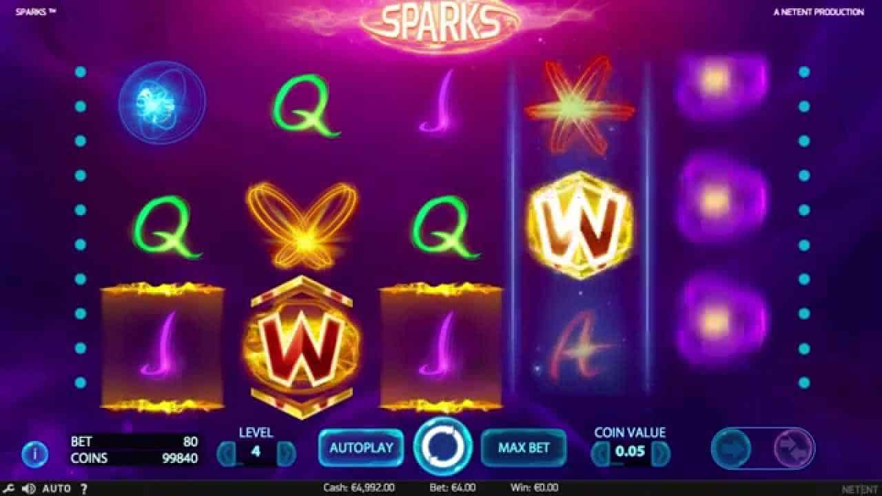 All free spins on Sparks