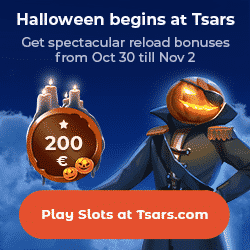 Tsars Casino Promotion