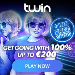 Double Offer, but only for a limited period of time at Twin Casino