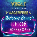 Vegaz Casino - Slot of the Month: up to 130 Free Spins