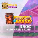 Will's Spins and mega wins - every single day at Will's Casino