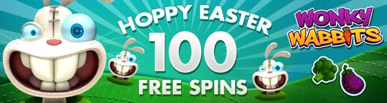 100 Easter Free Spins